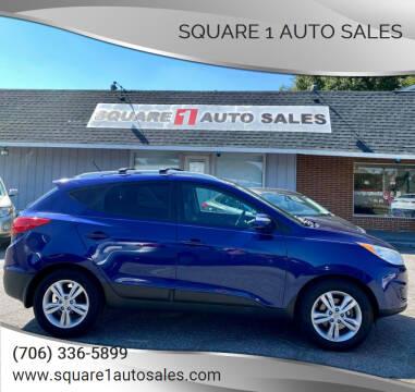2012 Hyundai Tucson for sale at Square 1 Auto Sales - Commerce in Commerce GA