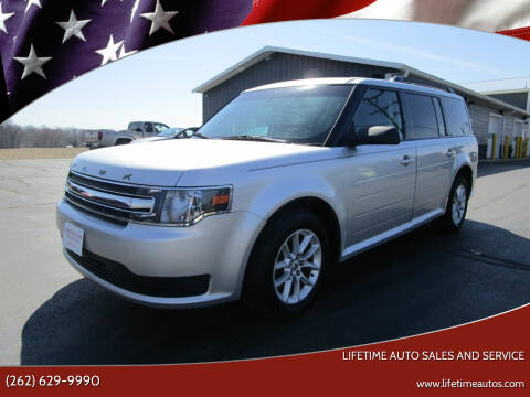 2013 Ford Flex for sale at Lifetime Auto Sales and Service in West Bend WI