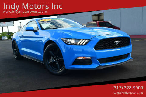 2017 Ford Mustang for sale at Indy Motors Inc in Indianapolis IN