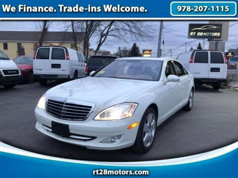 2007 Mercedes-Benz S-Class for sale at RT28 Motors in North Reading MA