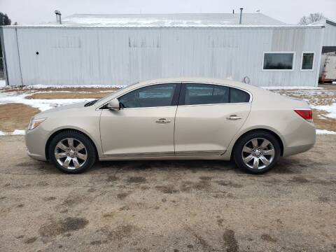 2011 Buick LaCrosse for sale at Steve Winnie Auto Sales in Edmore MI