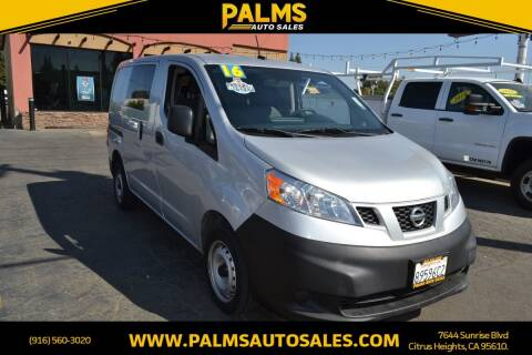 2016 Nissan NV200 for sale at Palms Auto Sales in Citrus Heights CA