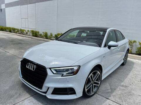 2018 Audi A3 for sale at Auto Beast in Fort Lauderdale FL
