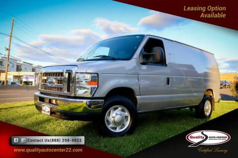 2013 Ford E-Series Cargo for sale at Quality Auto Center in Springfield NJ
