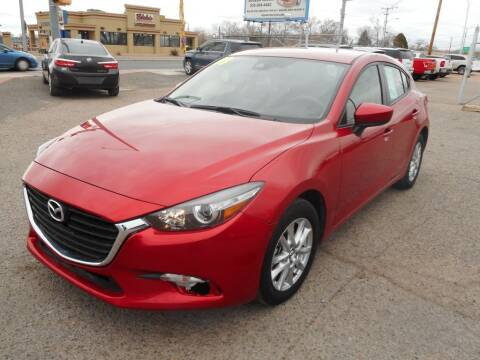 2018 Mazda MAZDA3 for sale at AUGE'S SALES AND SERVICE in Belen NM