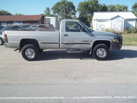 1999 Dodge Ram Pickup 2500 for sale at BRETT SPAULDING SALES in Onawa IA