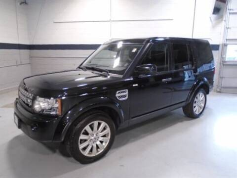 2013 Land Rover LR4 for sale at Luxury Car Outlet in West Chicago IL