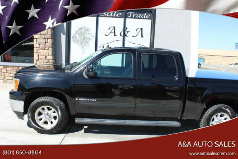 2007 GMC Sierra 1500 for sale at A&A Auto Sales in Orem UT