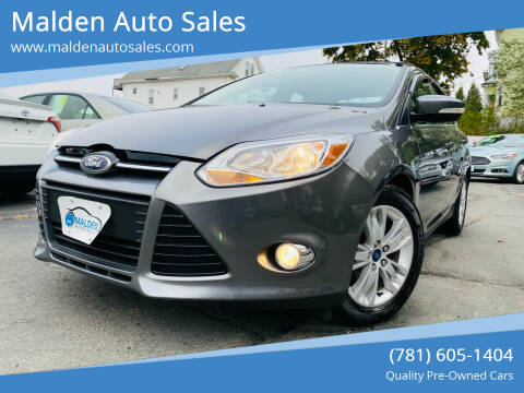 2012 Ford Focus for sale at Malden Auto Sales in Malden MA