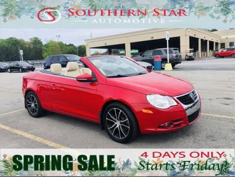 2010 Volkswagen Eos for sale at Southern Star Automotive, Inc. in Duluth GA