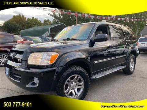 2007 Toyota Sequoia for sale at Steve & Sons Auto Sales in Happy Valley OR