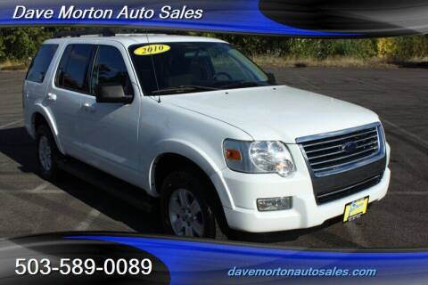 2010 Ford Explorer for sale at Dave Morton Auto Sales in Salem OR