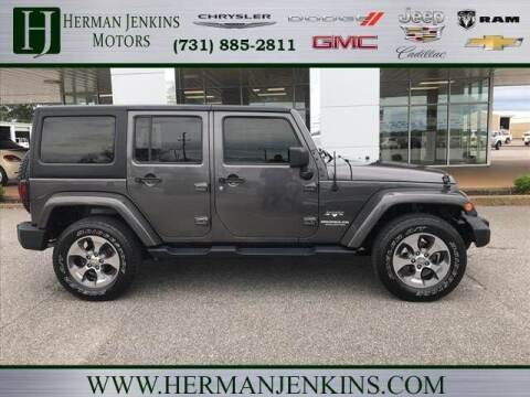 2017 Jeep Wrangler Unlimited for sale at Herman Jenkins Used Cars in Union City TN
