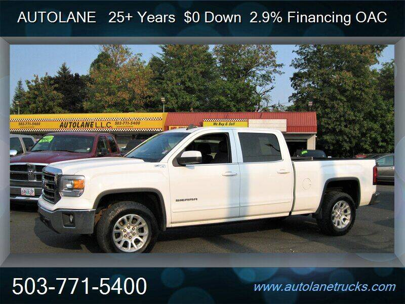 2015 GMC Sierra 1500 for sale at Auto Lane in Portland OR