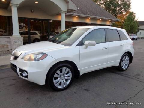 2010 Acura RDX for sale at DEALS UNLIMITED INC in Portage MI