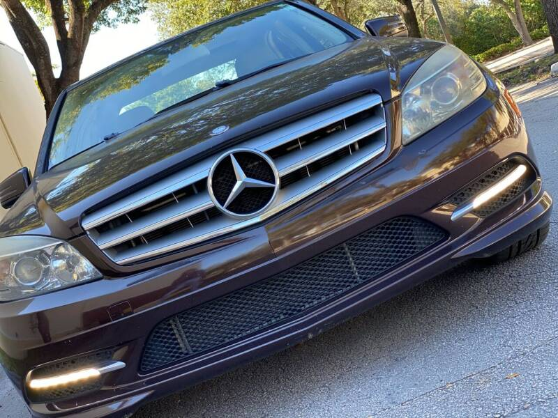 2011 Mercedes-Benz C-Class for sale at HIGH PERFORMANCE MOTORS in Hollywood FL