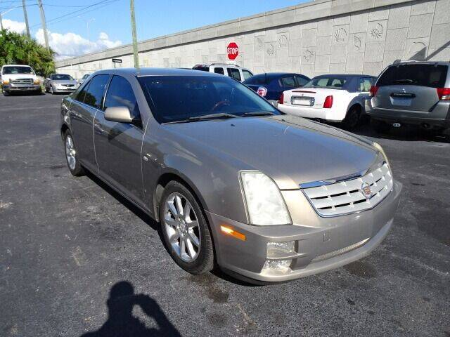 2007 Cadillac STS for sale at DONNY MILLS AUTO SALES in Largo FL