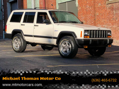 1997 Jeep Cherokee for sale at Michael Thomas Motor Co in Saint Charles MO
