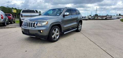 2012 Jeep Grand Cherokee for sale at WHOLESALE AUTO GROUP in Mobile AL