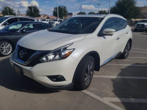 2016 Nissan Murano for sale at Stephen Wade Pre-Owned Supercenter in Saint George UT