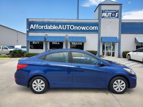 2016 Hyundai Accent for sale at Affordable Autos in Houma LA