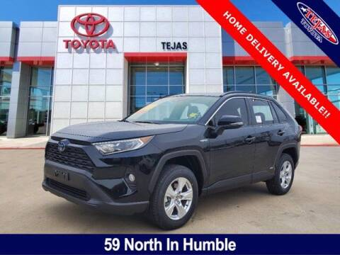 2021 Toyota RAV4 Hybrid for sale at TEJAS TOYOTA in Humble TX