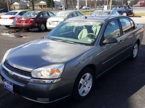 2005 Chevrolet Malibu for sale at Premier Auto Sales Inc. in Newport News VA