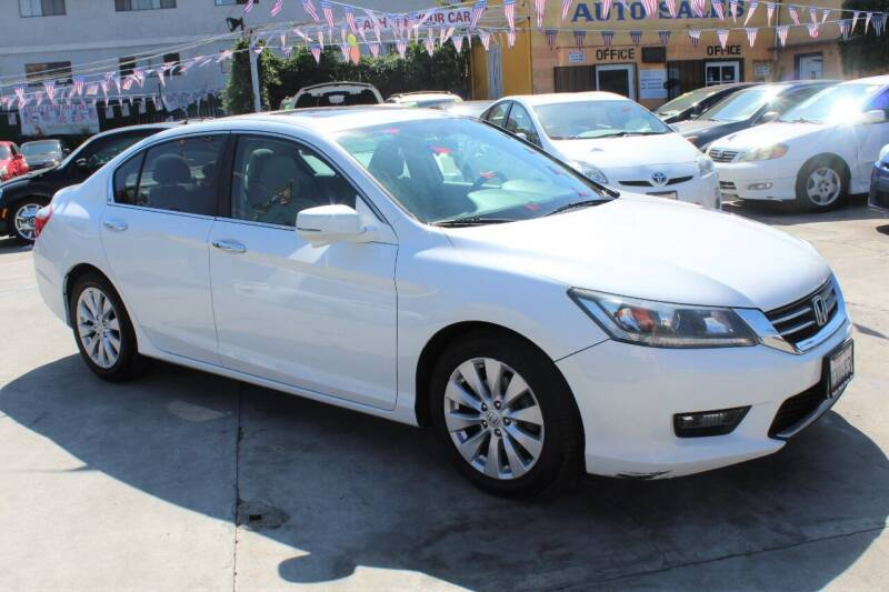 2014 Honda Accord for sale at FJ Auto Sales North Hollywood in North Hollywood CA