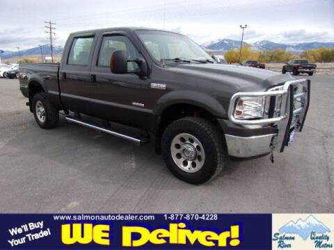 2005 Ford F-350 Super Duty for sale at QUALITY MOTORS in Salmon ID