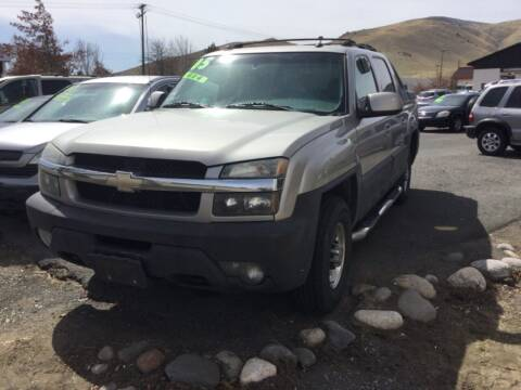 2005 Chevrolet Avalanche for sale at Small Car Motors in Carson City NV