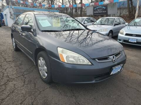 2004 Honda Accord for sale at New Plainfield Auto Sales in Plainfield NJ