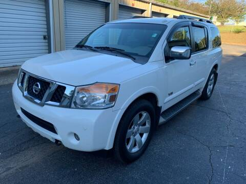 2008 Nissan Armada for sale at CAR STOP INC in Duluth GA