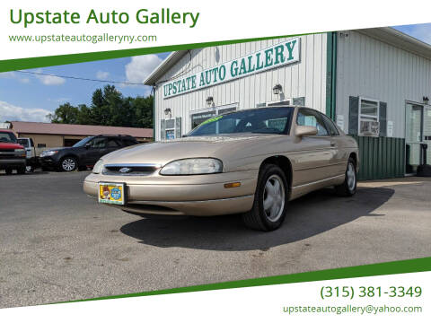 1998 Chevrolet Monte Carlo for sale at Upstate Auto Gallery in Westmoreland NY