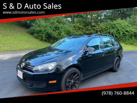2012 Volkswagen Jetta for sale at S & D Auto Sales in Maynard MA