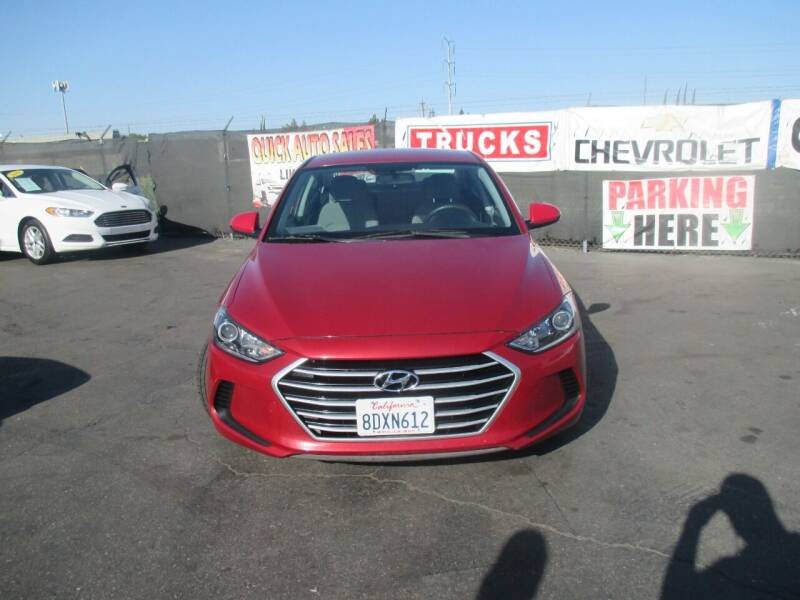 2017 Hyundai Elantra for sale at Quick Auto Sales in Modesto CA