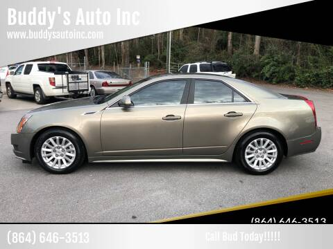 2010 Cadillac CTS for sale at Buddy's Auto Inc in Pendleton SC