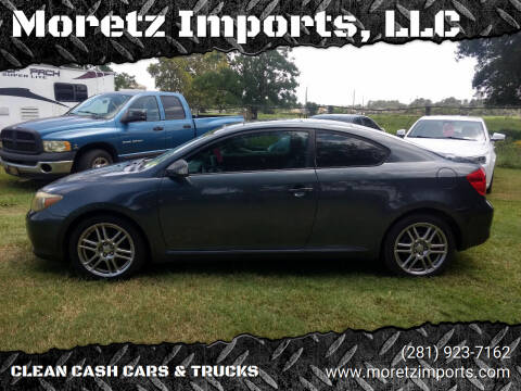 2007 Scion tC for sale at Moretz Imports, LLC in Spring TX