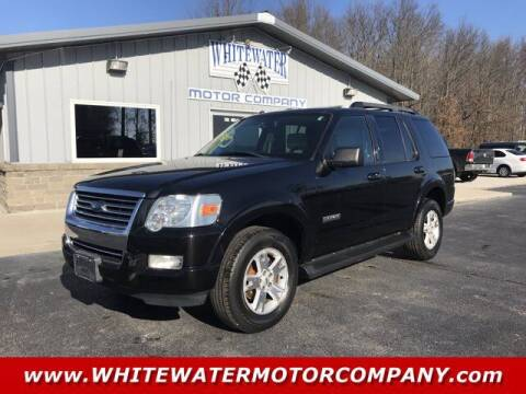 2008 Ford Explorer for sale at WHITEWATER MOTOR CO in Milan IN