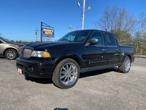 2002 Lincoln Blackwood for sale at Dubes Auto Sales in Lewiston ME