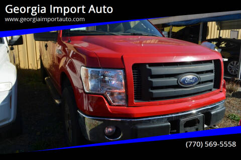 2010 Ford F-150 for sale at Georgia Import Auto in Alpharetta GA