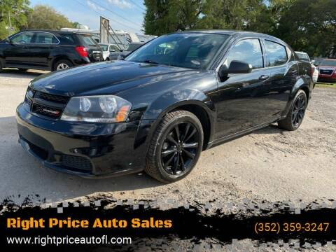 2014 Dodge Avenger for sale at Right Price Auto Sales in Waldo FL