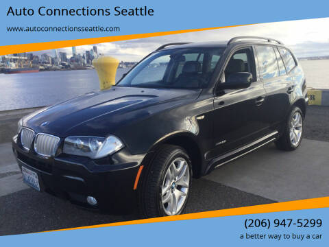 2010 BMW X3 for sale at Auto Connections Seattle in Seattle WA