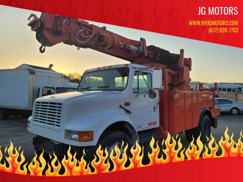 1998 International 4900 for sale at JG Motors in Worcester MA