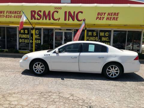 2007 Buick Lucerne for sale at Ron Self Motor Company in Fort Worth TX