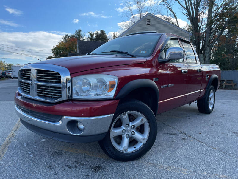 2007 Dodge Ram Pickup 1500 for sale at J's Auto Exchange in Derry NH