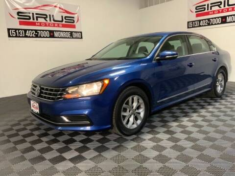 2016 Volkswagen Passat for sale at SIRIUS MOTORS INC in Monroe OH