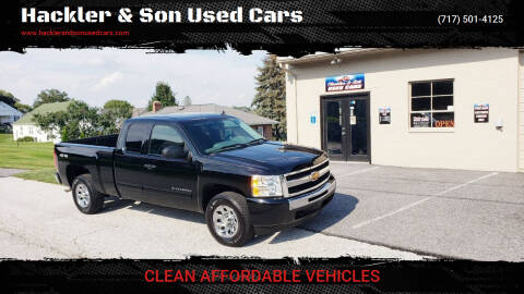 2010 Chevrolet Silverado 1500 for sale at Hackler & Son Used Cars in Red Lion PA
