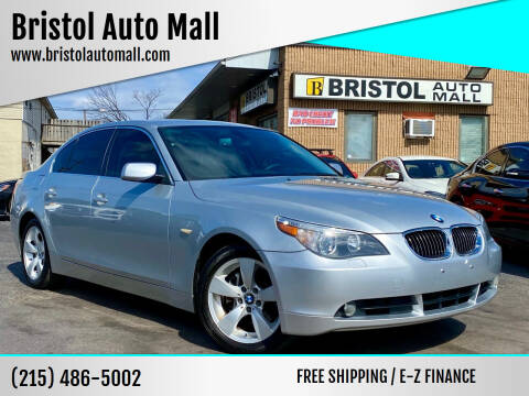 2007 BMW 5 Series for sale at Bristol Auto Mall in Levittown PA