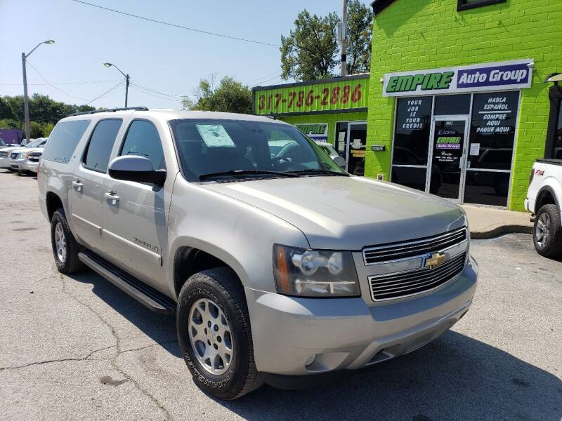 2008 Chevrolet Suburban for sale at Empire Auto Group in Indianapolis IN