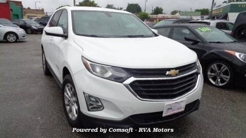 2018 Chevrolet Equinox for sale at RVA MOTORS in Richmond VA